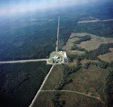 米ルイジアナ州にある重力波望遠鏡「LIGO」(LIGO提供)
