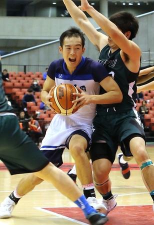 高校バスケ 帝京長岡、2年連続で4強入り 男子