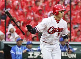 広島の丸佳浩外野手