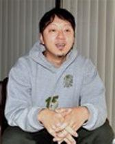 片山来夢選手の小学生時代を振り返りながらメダル獲得へエールを送る滝智弘さん=10日、静岡市内