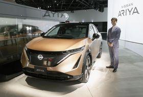 日産自動車の新型電気自動車「アリア」