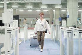 成田空港第3ターミナルの「電子申告ゲート」