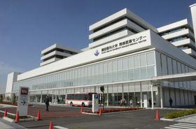 開院した愛知県岡崎市の藤田医科大岡崎医療センター=7日午前