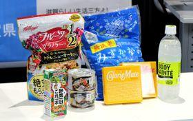 滋賀県内の大学などに通う学生に無償提供される予定の食料品