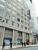 スマートデイズの本社が入るビル=19日、東京都中央区