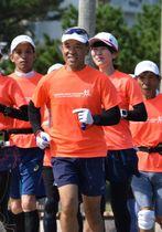 第1回大会から綾照葉樹林マラソンに出場を続け、最後の大会に挑む齊田清秀さん