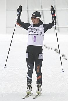 高校スキー 選抜ノルディック 祖父江、新境地の頂点