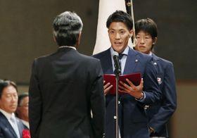 日本選手団がアジア大会結団式 ...