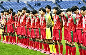 尚志...決勝あと一歩、青森山田と激闘PK戦 全国高校サッカー