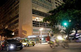 カルロス・ゴーン容疑者が、個人所有物を残しているブラジル・リオデジャネイロのマンション=10日(ロイター=共同)