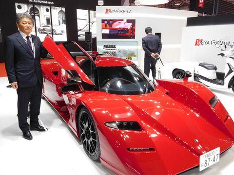 栃木の中小企業、スーパーカーの夢に挑む 「寂しい」モーターショーで異彩