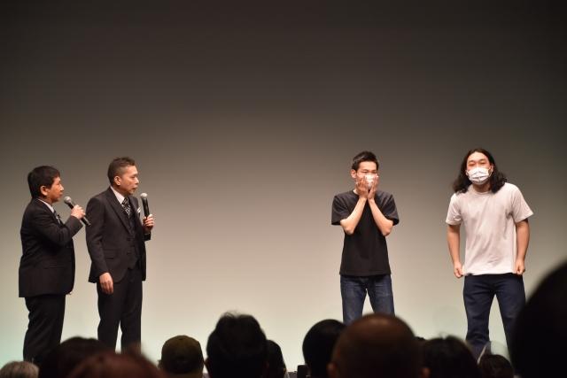 『タイタンライブ』にかが屋が出演 爆笑問題とエンディングトーク (C)ORICON NewS inc.