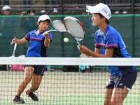 ソフトテニス 栃木県新人大会 男子は宇工が13年ぶり優勝