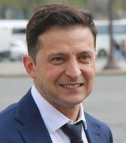 ウクライナのゼレンスキー大統領(タス=共同)