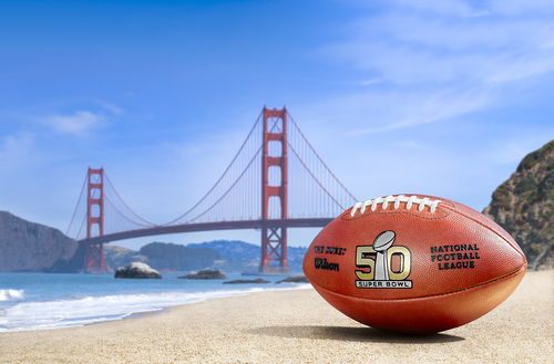 50回の節目を迎える今季のスーパーボウルは来年2月、49ersの本拠地「リーバイス・スタジアム」で開催される=写真提供・NFLジャパン