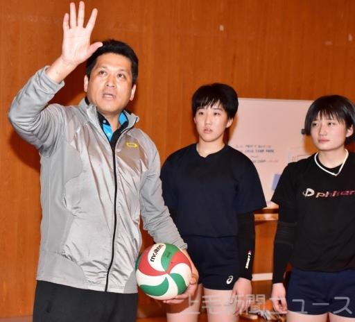 高校バレー 健大高崎高の監督に経験豊富な佐々木雄司氏