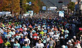 昨年11月11日に開かれた「おかやまマラソン」