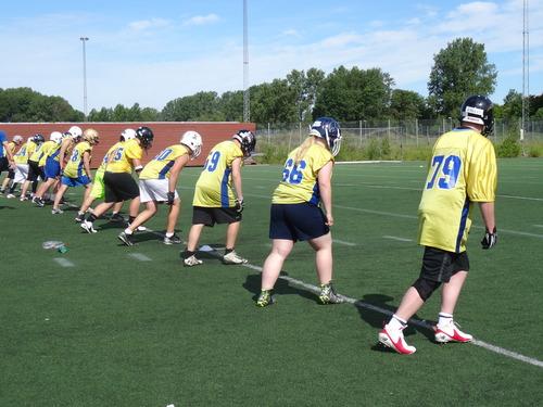 U―17スウェーデン代表の強化合宿、女性選手も参加=撮影:山本慎治