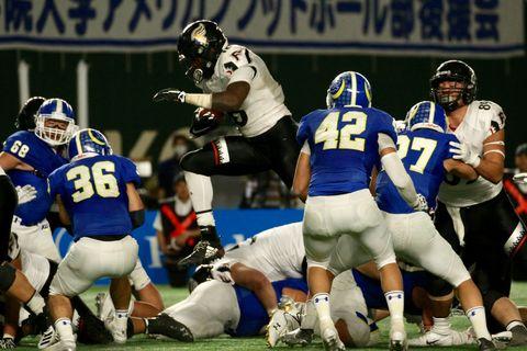 富士通が3年連続4度目の日本一 「第72回ライスボウル」