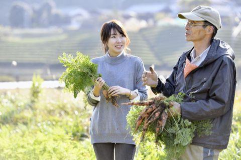 「感動を食卓に」   農家と母親つなぐ
