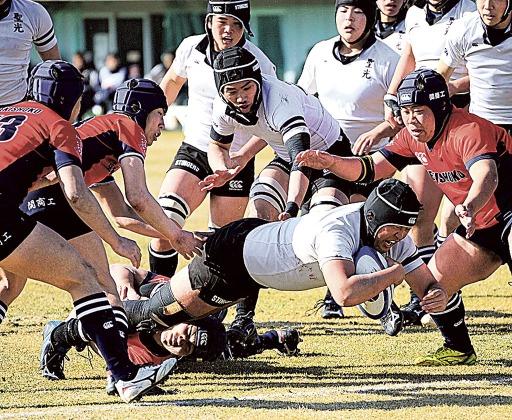 高校ラグビー 聖光「全国」ならず 東海選抜大会