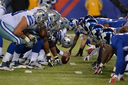 NFLの各チーム間には、伝統的なライバル関係が存在する=写真提供:NFLJAPAN