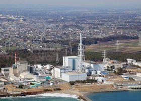 日本原子力発電の東海第2原発=茨城県東海村