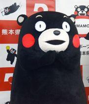 中国、香港、台湾での名称が「熊本熊」に変更される「くまモン」
