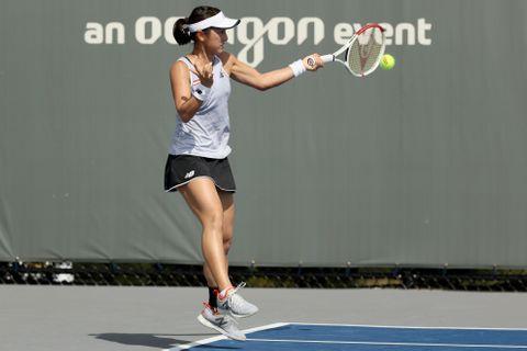 女子テニス、土居は1回戦敗退