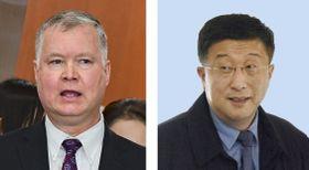 米国のビーガン北朝鮮担当特別代表、北朝鮮国務委員会の金革哲・米国担当特別代表