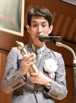 6月、「大家さんと僕」で手塚治虫文化賞の短編賞を受賞した矢部太郎さん