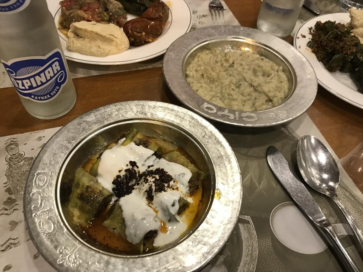 伝統的なトルコ料理