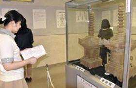 国内最古・木造宝篋印塔を公開 いわき市考古資料館で特別展