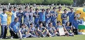 サッカー男子、卓球遊学館高が3位 愛媛国体