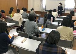 NPO法人Fineによる不妊ピア・カウンセラーの養成講座=2019年12月、東京都江東区(同法人提供)