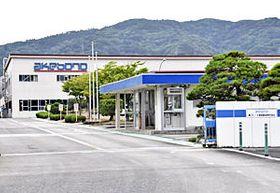 縮小が発表された曙ブレーキ福島製造=18日、桑折町