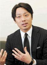 仙台で開かれる大会「トップ4トーナメント」の魅力を語るバドミントン元日本代表・池田氏