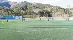 コバルトーレ女川がホームゲームを開催してきた町総合運動公園第2多目的グラウンド