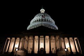 20日、ワシントンの米議会(ロイター=共同)