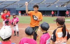 元巨人・加藤健さんが野球女子指南 新潟でイベント