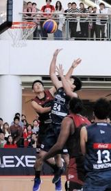 男子プロバスケットボール「3×3」が神戸で開幕