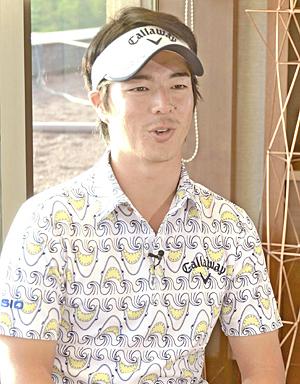 石川遼が初出場「福島にパワー届ける」 ダンロップ福島オープン