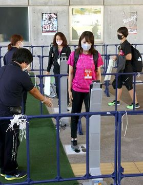 感染症対策徹底 開催モデルに 陸上日本選手権、新潟で開幕
