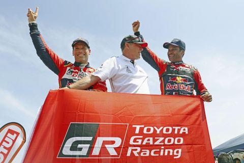 トヨタ、初の総合優勝