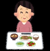 食事のイメージ(いらすとや)