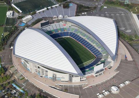 東京五輪サッカー男子1次リーグでメキシコと日本が対戦する埼玉スタジアム=さいたま市