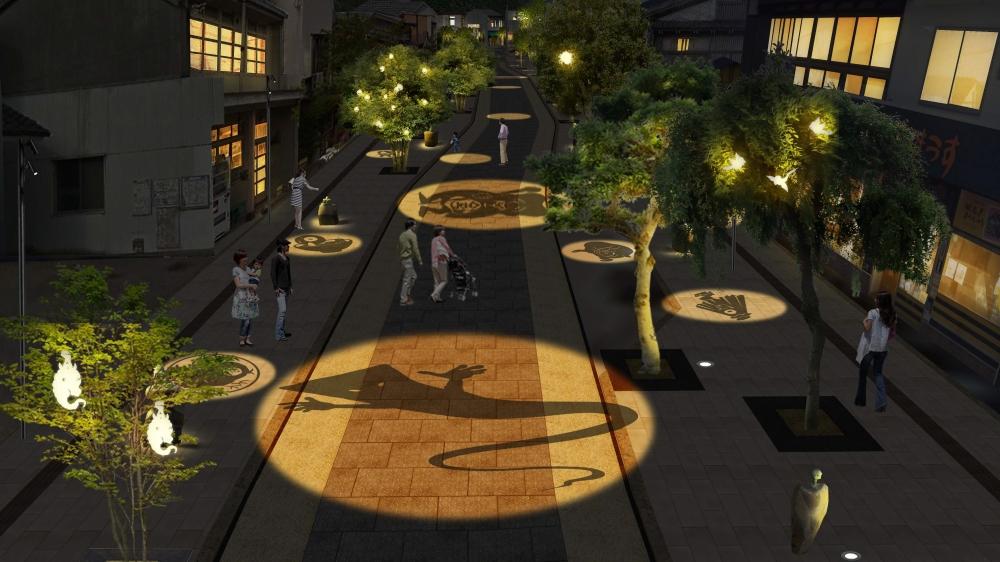 イメージ図(夜) ⓒ水木プロ