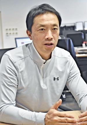 大倉智社長「双葉郡を盛り上げたい」 いわきFC・本拠地拡大