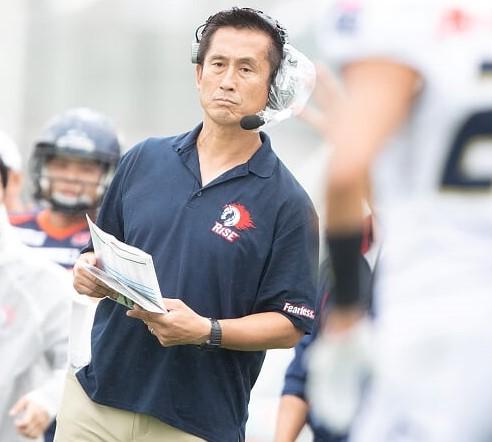 今季から中大を率いる須永恭通ヘッドコーチ