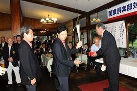 歴史を誇るKGA主催の関東倶楽部対抗のブロック大会表彰式。来年から独立した大会として生まれ変わる